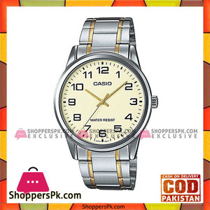 Casio Silver Stainless Steel Watch For Men