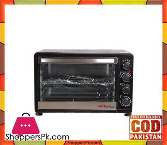 Gaba National GN0-1548 Electric Oven Black (Brand Warranty)