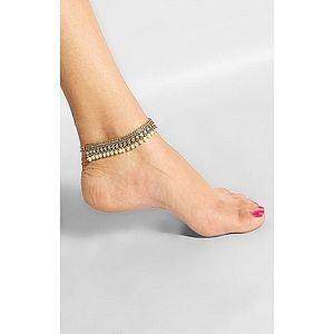 Golden Stylish Anklet JP-1341