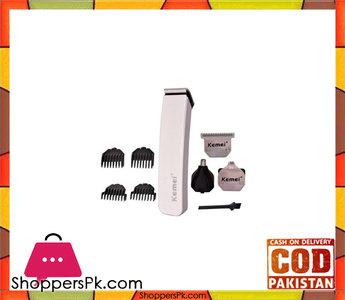 Kemei Kemei -3580  4In1 Multifunctional Shaving Hair Clipper  White