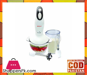 Westpoint WF-3201  Hand Blender, Chopper and Egg Beater  White