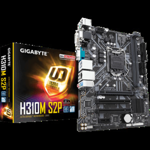 Gigabyte H310M S2P Intel H310 Ultra Durable Motherboard