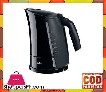 Braun WK-300  Multiquick Electric Kettle  1.7L  1 Year Warranty