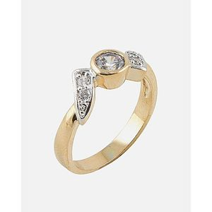 Golden 18-K Gold Plated 18-K Gold Plated Ring