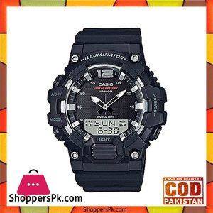 Casio Standard Black Watch for Men Hdc 700 1Avdf