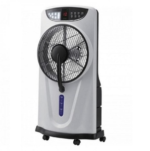 Lever 40 watts standing Rechargeable Mist Fan