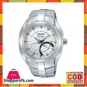 Seiko Mens Silver Stainless Steel Watch (Model No. SRN007P1)