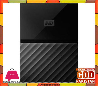 WD  My Passport 1TB External USB 3.0 Portable Hard Drive  Black (WDBYNN0010BBK)