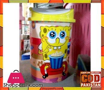 Spongebob Plastic Dustbin