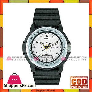Timex Resin Analog Sports Watch  White & Black