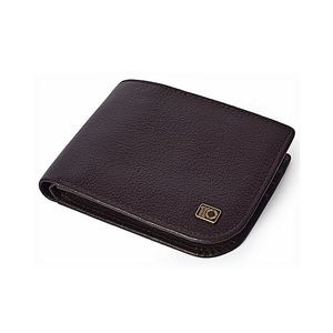 Brown Leather Grained Quasi Collection Wallet For Men  LGW-19-BR