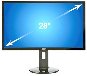 Acer  CB281HK 28 LED 4K UHD FreeSync Monitor