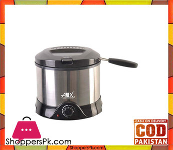 Anex AG-2015 Deep Fryer  Silver & Black