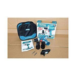 Total Tdli228120 Cordless Drill 12V-Blue & Grey
