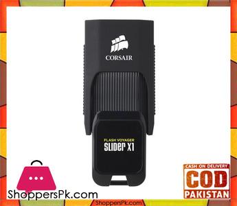 Corsair Flash Voyager® Slider X1 USB 3.0 128GB USB Drive  CMFSL3X1-128GB