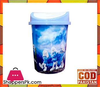 Cartoon Plastic Dustbin