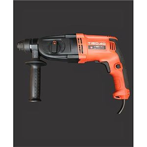 TIEDAO Tiedao Rotary Hammer Td2601 26mm Drill Machine  100% Copper  Red