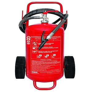 Mobiak Fire Extinguisher Trolley Type  50KG DCP