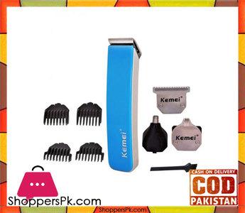 Kemei Kemei -3580  4 In1  Multifunctional Shaving Hair Clipper  Blue