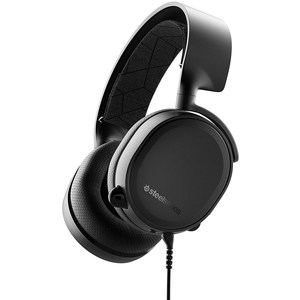 SteelSeries Arctis 3 (2019 Edition) All-Platform Wired Gaming Headset  Black  61503  For PC, PlayStation 4, Xbox One, Nintendo Switch, VR, Android, and iOS