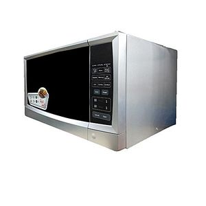 PEL Microwave Oven, 30 Liter, Digital, Grill Silver