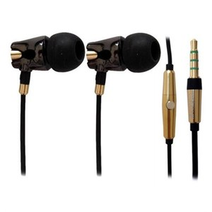 A4Tech MK-790 HD Ceramic Earphone (Black)