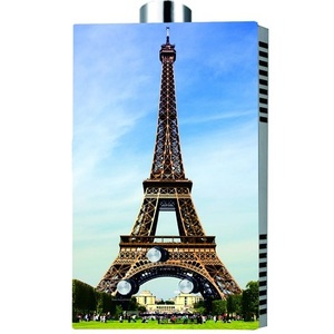 Sogo 8 LTR Global Series Eiffel Tower Water Geyser