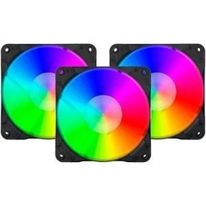 Redragon GC-F007 120mm RGB Triple Case Fan Pack