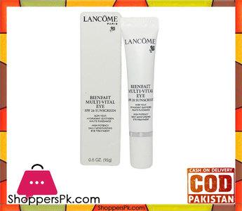 Lancome Bienfait Multi-Vital Eye Spf 28 Sunscreen High Potency Daily Moisturizing Eye Treatment
