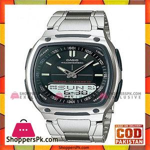 Casio Silver Steel Watch for Men