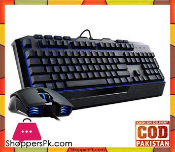 Cooler Master Devastator II Gaming Keyboard and Mouse Combo  Blue LED (SGB-3030-KKMF1-US)