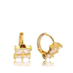 Golden 24-K Gold Plated Women Earrings JP-23784