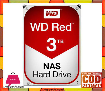 WD Red 3TB NAS Hard Disk Drive  5400 RPM Class SATA 6Gb/s 64MB Cache 3.5 Inch