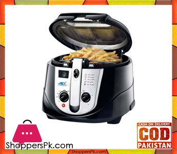 Anex AG-2014  Deep Fryer  Black