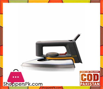 Philips Dry Iron  HD117201  Black