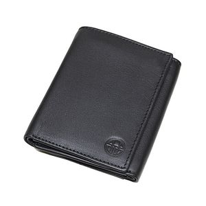 Mens Leather Wallet  Steller Collection  Black  CPW-16