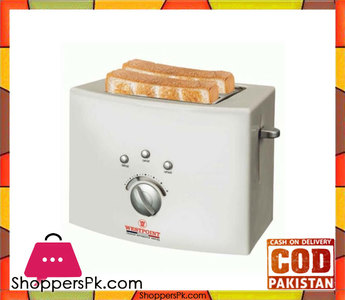 Westpoint WF-2540  Deluxe 2 Slice Pop-Up Toaster  White