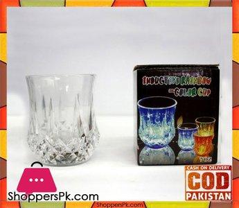 Inductive Rainbow Color Cup  7 oz -1 Pcs