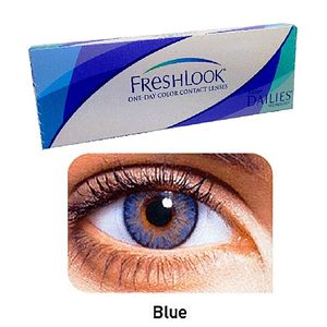 FreshLook Blue Color Contact Lenses with free Kit