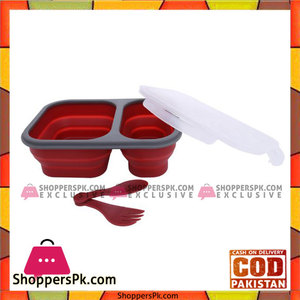 Good 2 Go Rectangle Expandable 3-Compartment Container, 1.1 Liter  G35005