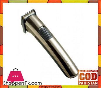Kemei Km-606  Cordless Hair Clipper Trimmer For Men  White