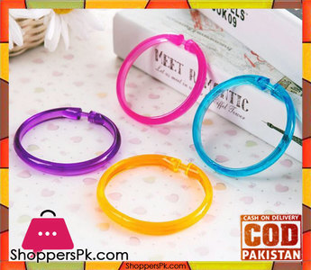 Pack of 2 Colorful Transparent Wind Protection Loop Hook