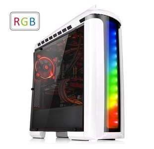 Thermaltake Versa C22 RGB ATX Mid-Tower Chassis Snow Addition