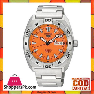 Seiko SRP283K1  Stainless Steel Mens Watch -Silver