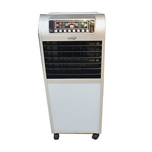 OMEGA Evaporative Room Air Cooler  Silver & White