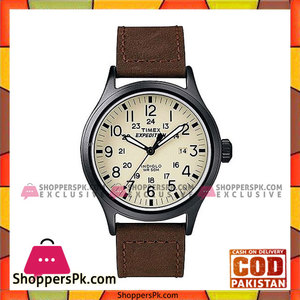 Timex White Nylon Expedition Scout Analog Watch For Men