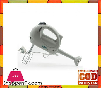 Dumas 2 in 1  Hand Mixer & Blender Double Beater  12HM816A  White