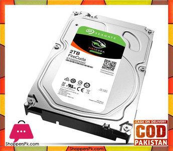 Seagate FireCuda 2TB 7200 RPM 64MB Cache SATA 6.0Gb/s 3.5 Gaming SSHD Hybrid Hard Drive Bare Drive