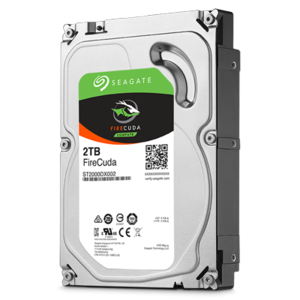 Seagate 2TB 3.5 Firecuda Solid State Hybird Drive