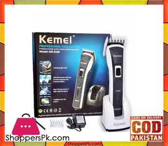 Kemei Km-6166  Hair Clipper  Black & White